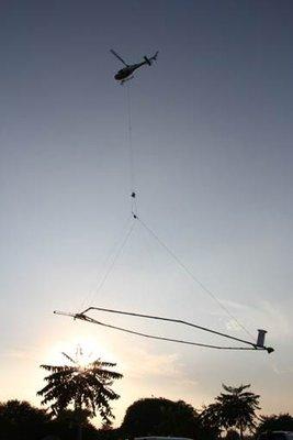 SkyTEM flyver i Indien