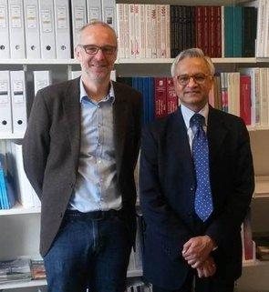 Esben Auken og den indiske ambassadør
